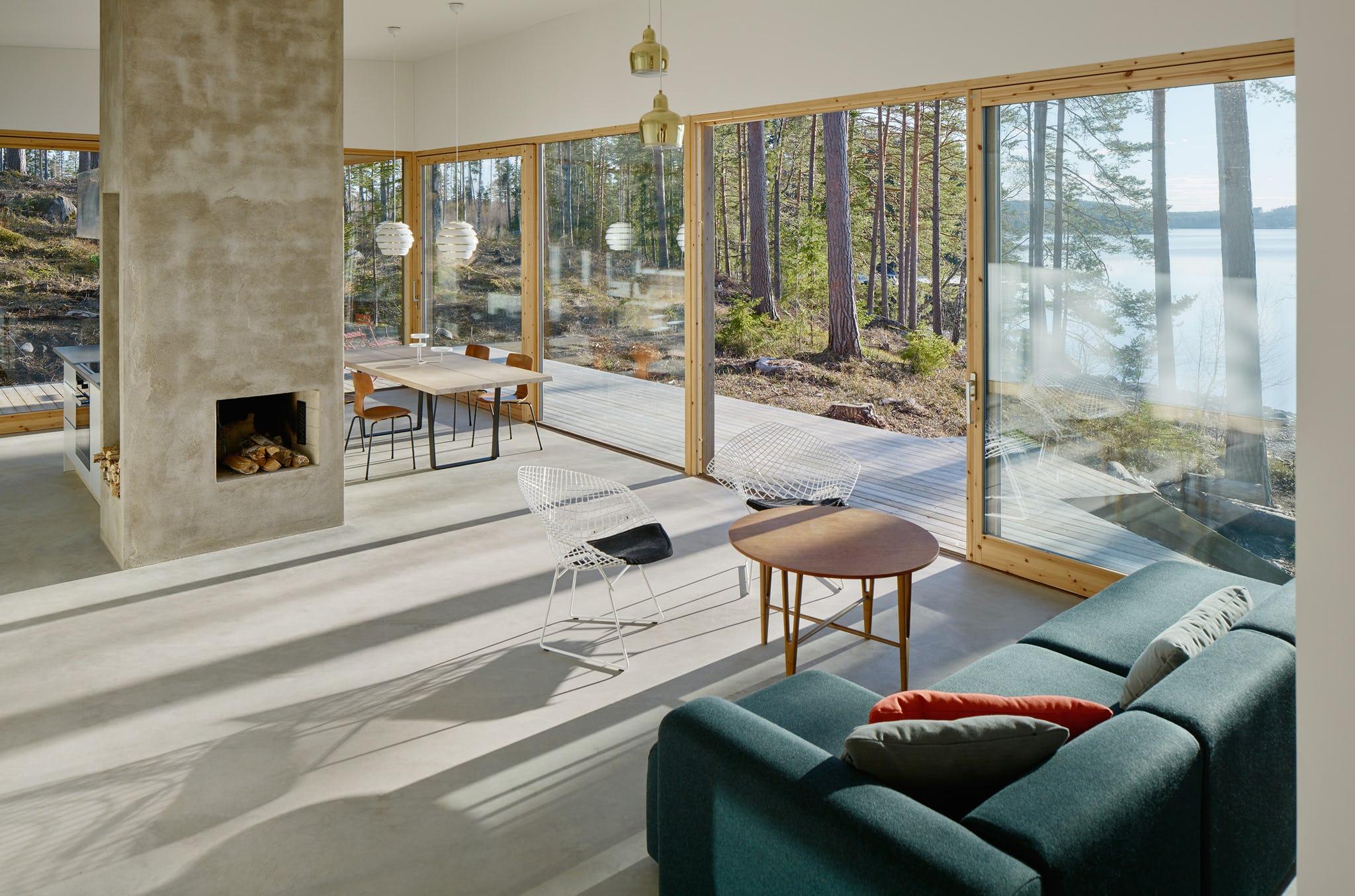 Dive Architects Dalarna House