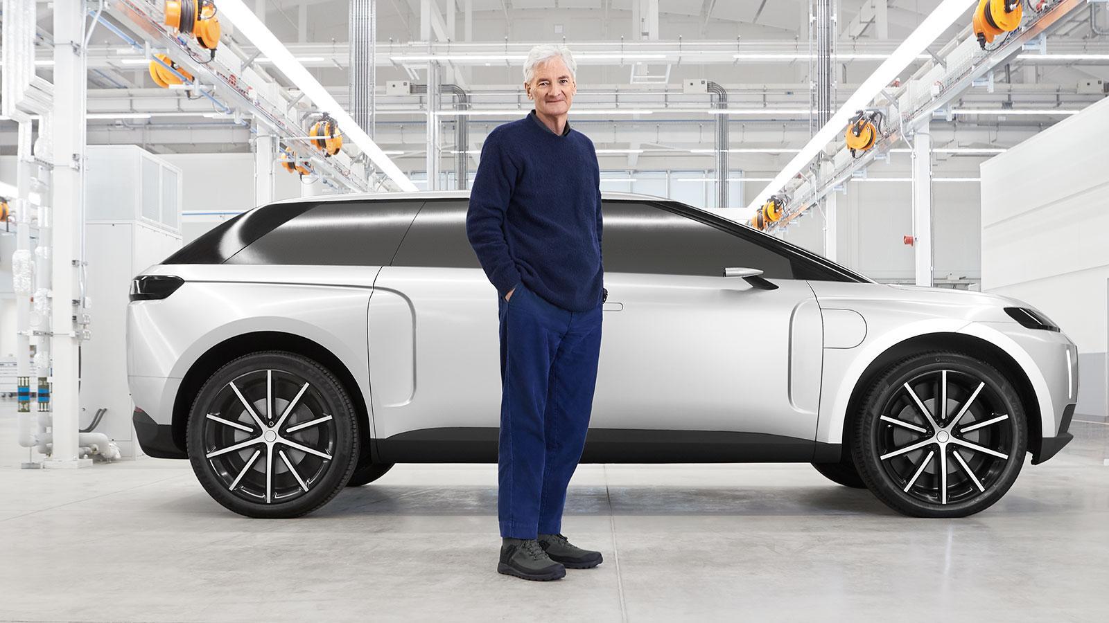 ダイソン、開発中止した電気自動車を公開