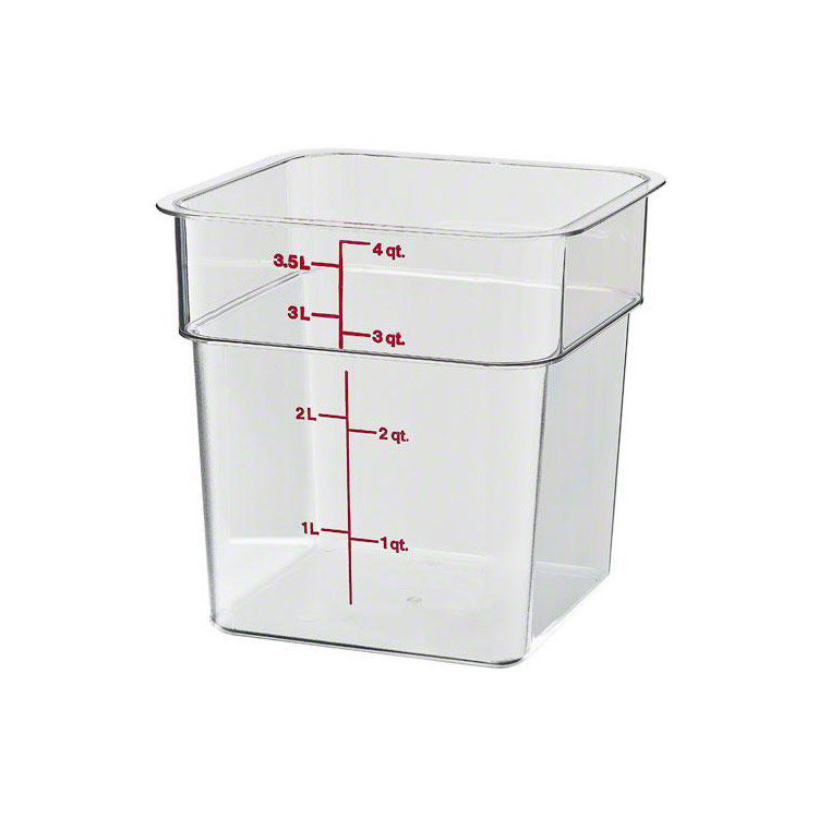 Cambro 4 qt Polycarbonate Food Storage Container