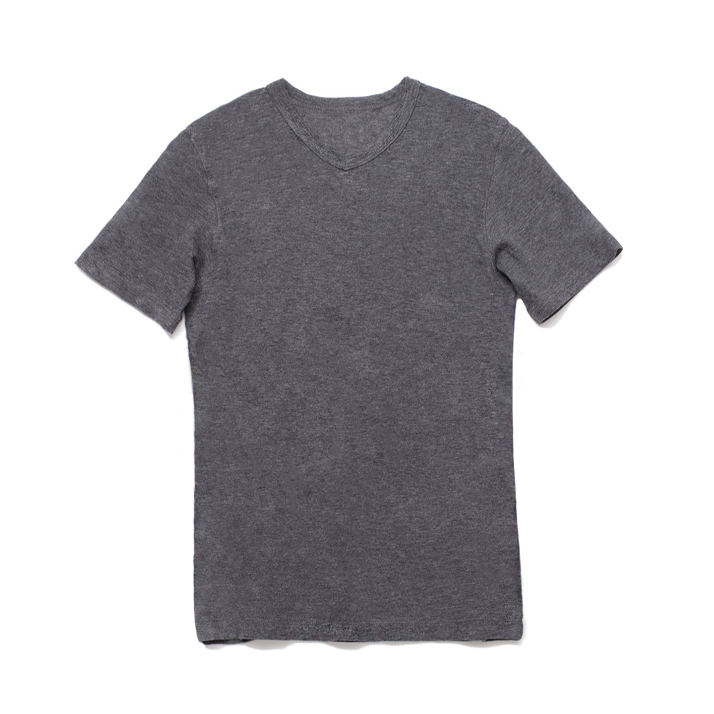 NEXTRAVELER Loopwheel Short Sleeve V Neck T-Shirt