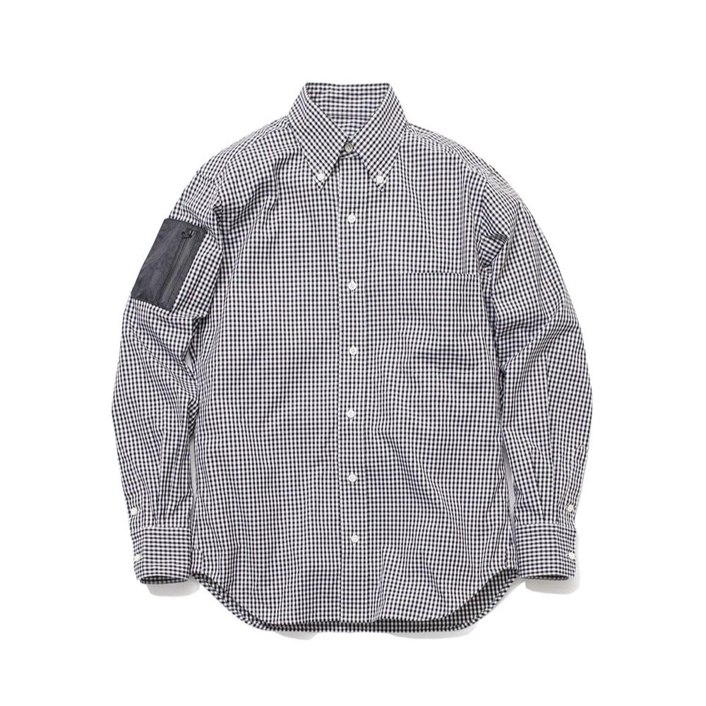 NEXTRAVELER-TOOLS-Black-Pocket-with-Easy-Care-Check-Shirt