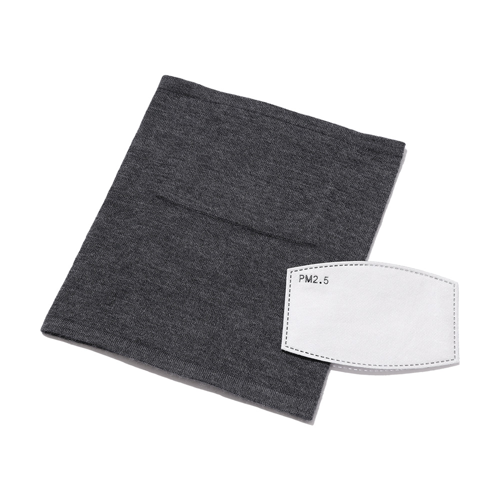 NEXTRAVELER TOOLS Cashmere Neck Warmer with Mask Filter